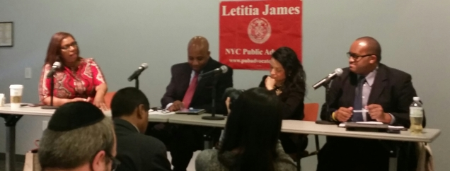 New York City Public Advocate Letitia James