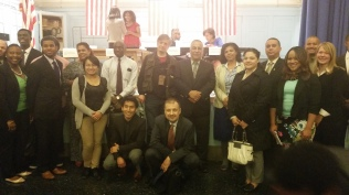 Atef Elbeialy at an Immigrants Workshop event