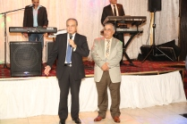 Egyptian Ambassador Ahmed Farouk with Atef Elbeialy