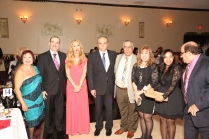 Members of the Egyptian Consulate in New York with Atef Elbeialy